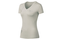 Odlo Ladies T-shirt s/s v-neck FLY platina